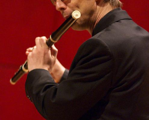 Ekkehart Schubert, Duo Partner of Dr. Preethi de Silva, classical flute