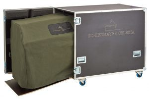 Flight Case (open with celesta and Cover)