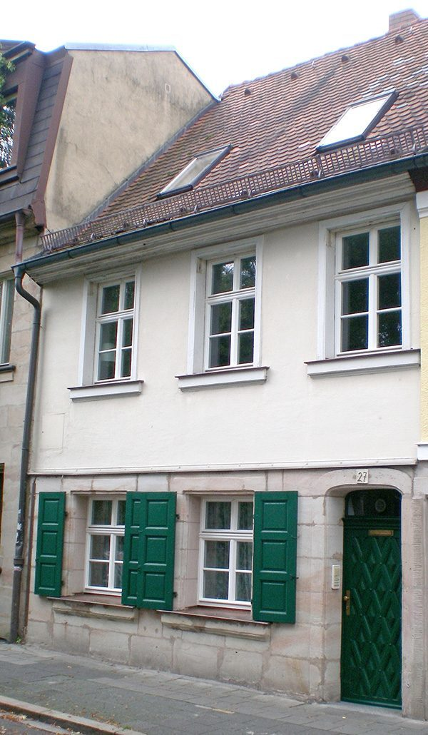 Birthplace of company founder Balthasar Schiedmayer