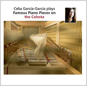 Celia García-García plays on the Celesta