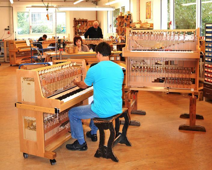 Manufactury of Schiedmayer Celesta