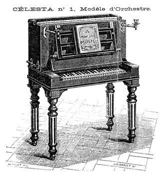 Die originale Celesta von V. Mustel