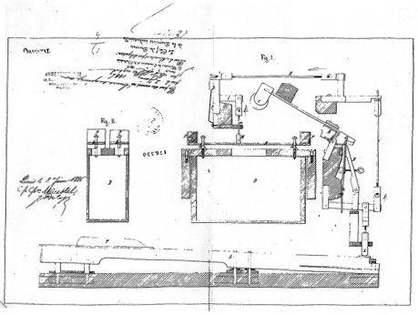 Original-Patent der Celesta