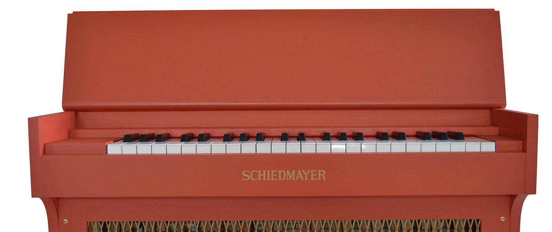 CELESTINA 3,5 Oktaven (f1-c5) Klaviatur