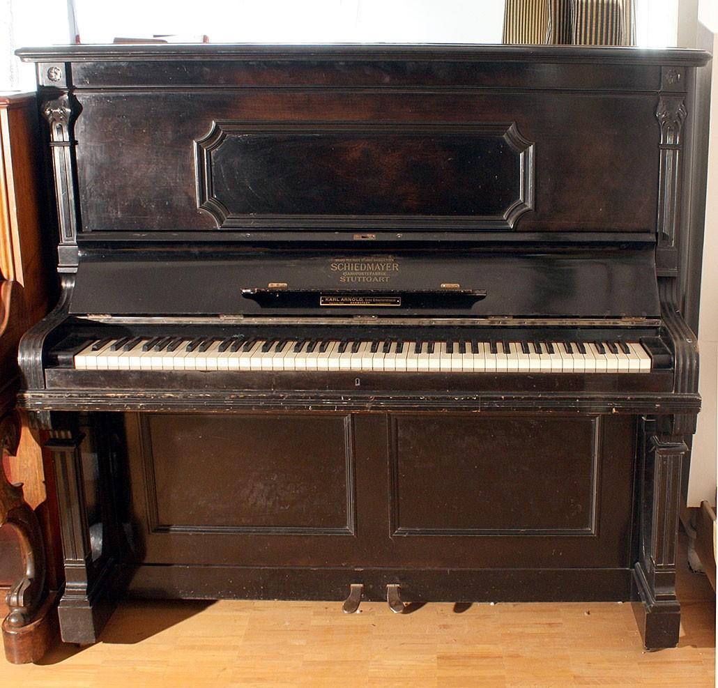 Pianino Schiedmayer Pinaofortefabrik Nr. 51040 BJ 1920